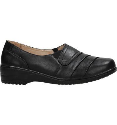 9d31184a06e19 Czarne kozaki damskie Angil - Sklepy obuwnicze Viola