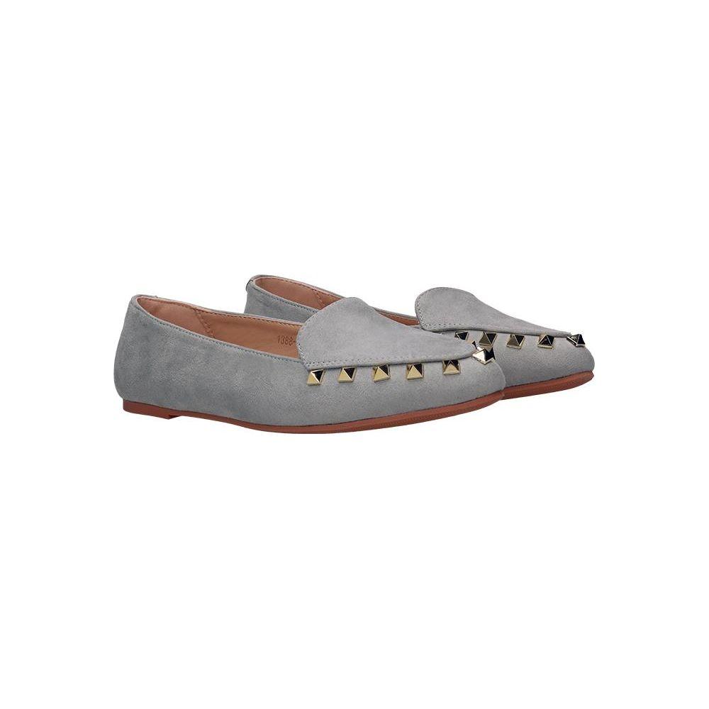 2cffa0f7ddffb Srebrne buty sportowe młodzieżowe damskie Poppy - Sklepy obuwnicze Viola
