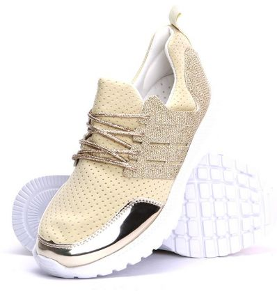 Czarne młodzieżowe sportowe buty damskie Heidie Sklepy