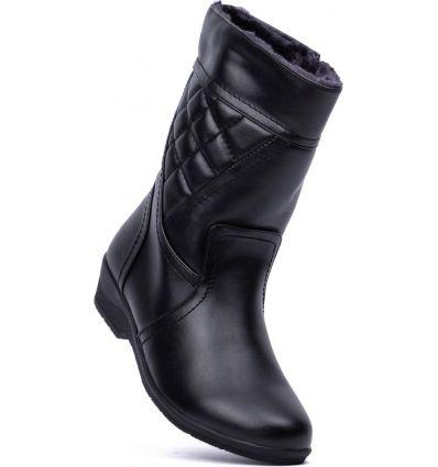 e875e80fcfb25 Czarne kozaki damskie Mistil - Sklepy obuwnicze Viola