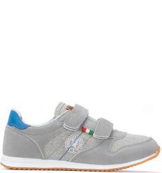 Czarno niebieskie buty sportowe chłopięce Dareen Sklepy