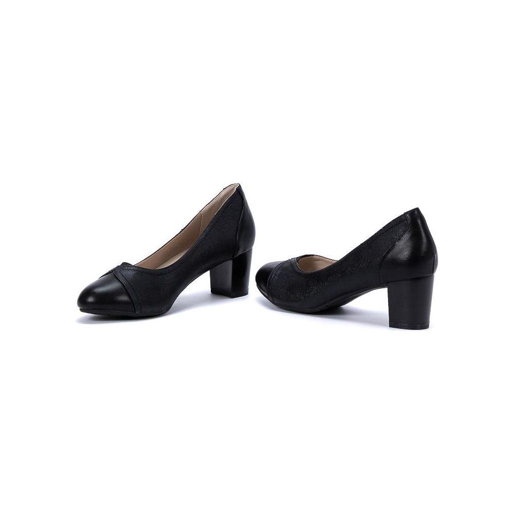 0e8ea3e1ba8ab Kozaki damskie w szpic Blandina black - Sklepy obuwnicze Viola