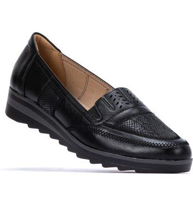 3ef4a2663e127f Półbuty męskie ocieplane Giovanni black - Sklepy obuwnicze Viola