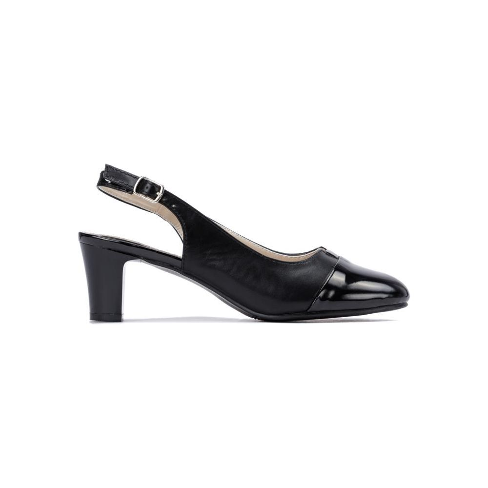 706f31e0dd052 Czarne botki wiązane na obcasie Alice black - Sklepy obuwnicze Viola
