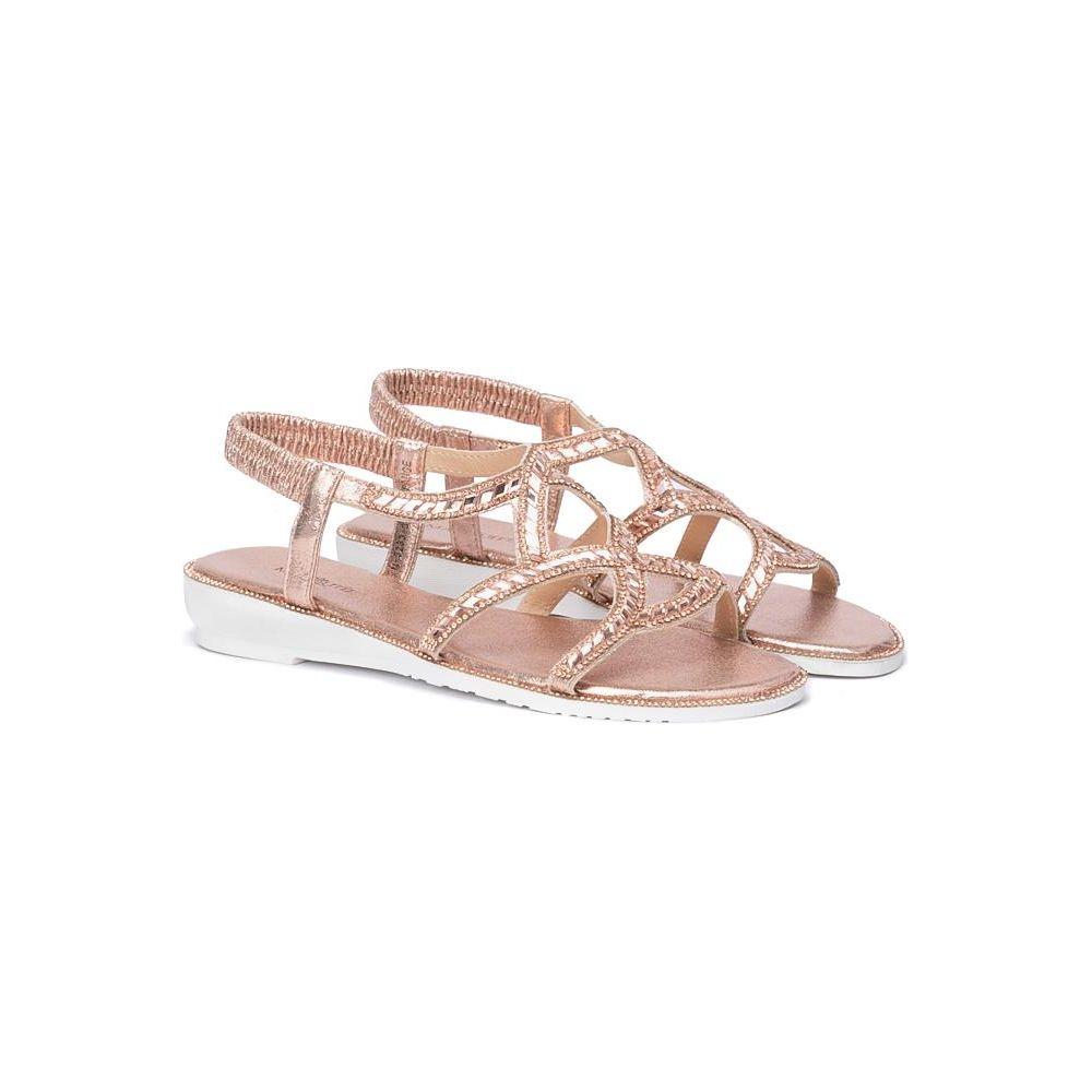 Białe sandały damskie Liliana Sklepy obuwnicze Viola