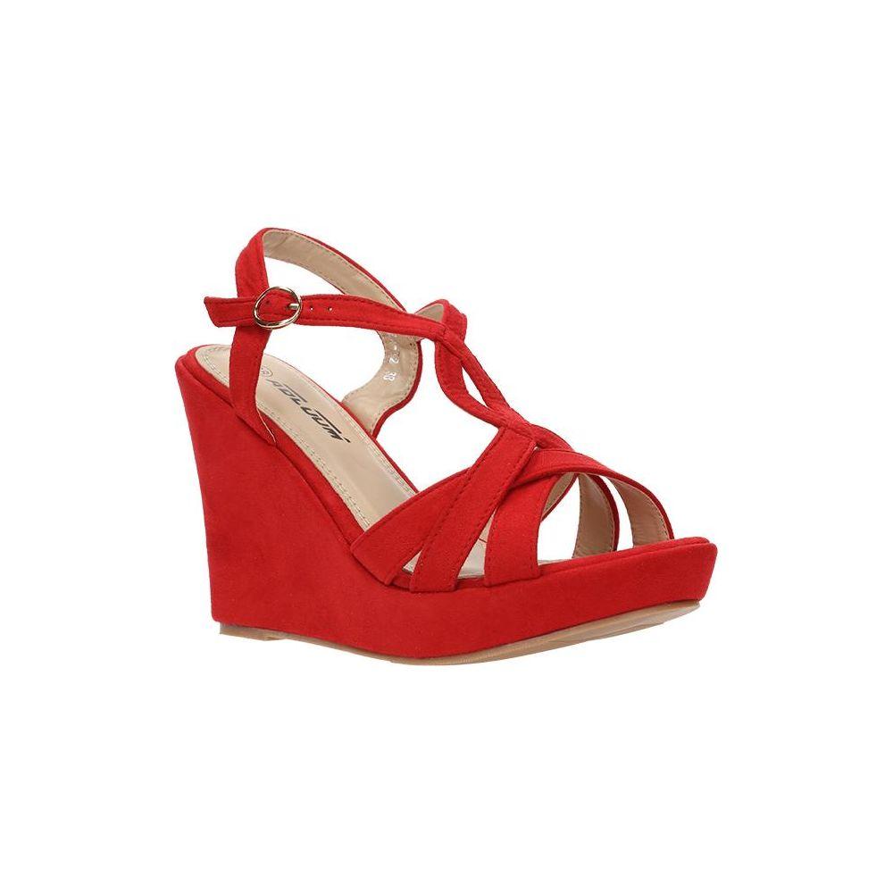 czerwone wysokie buty męskie